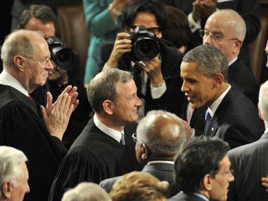 Barack and Roberts